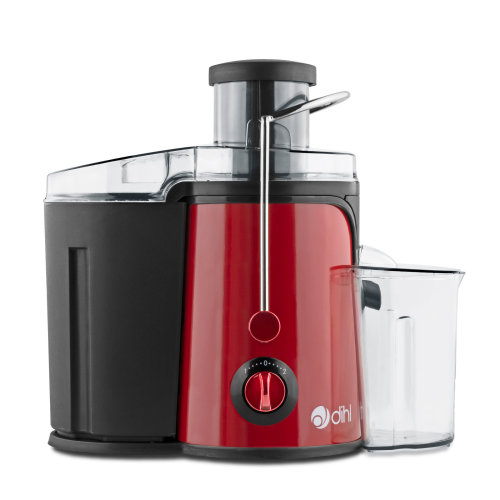 Red 2.5L 600W Whole Fruit Centrifugal Juicer