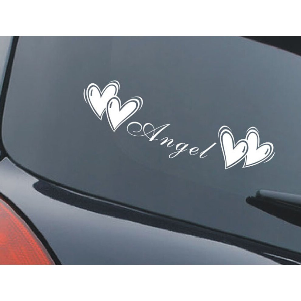 Romantic letters car sticker popular car decal free decals white 45cm 1