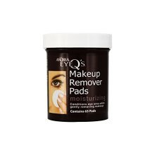 Andrea Eye Qs Moisturizing Eye Makeup Remover Pads, 65 Count (Pack of 6)