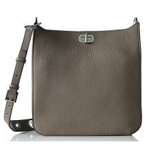Michael Kors Sullivan Large Leather Messenger Bag - Cinder - 30H6SUPM3L-513