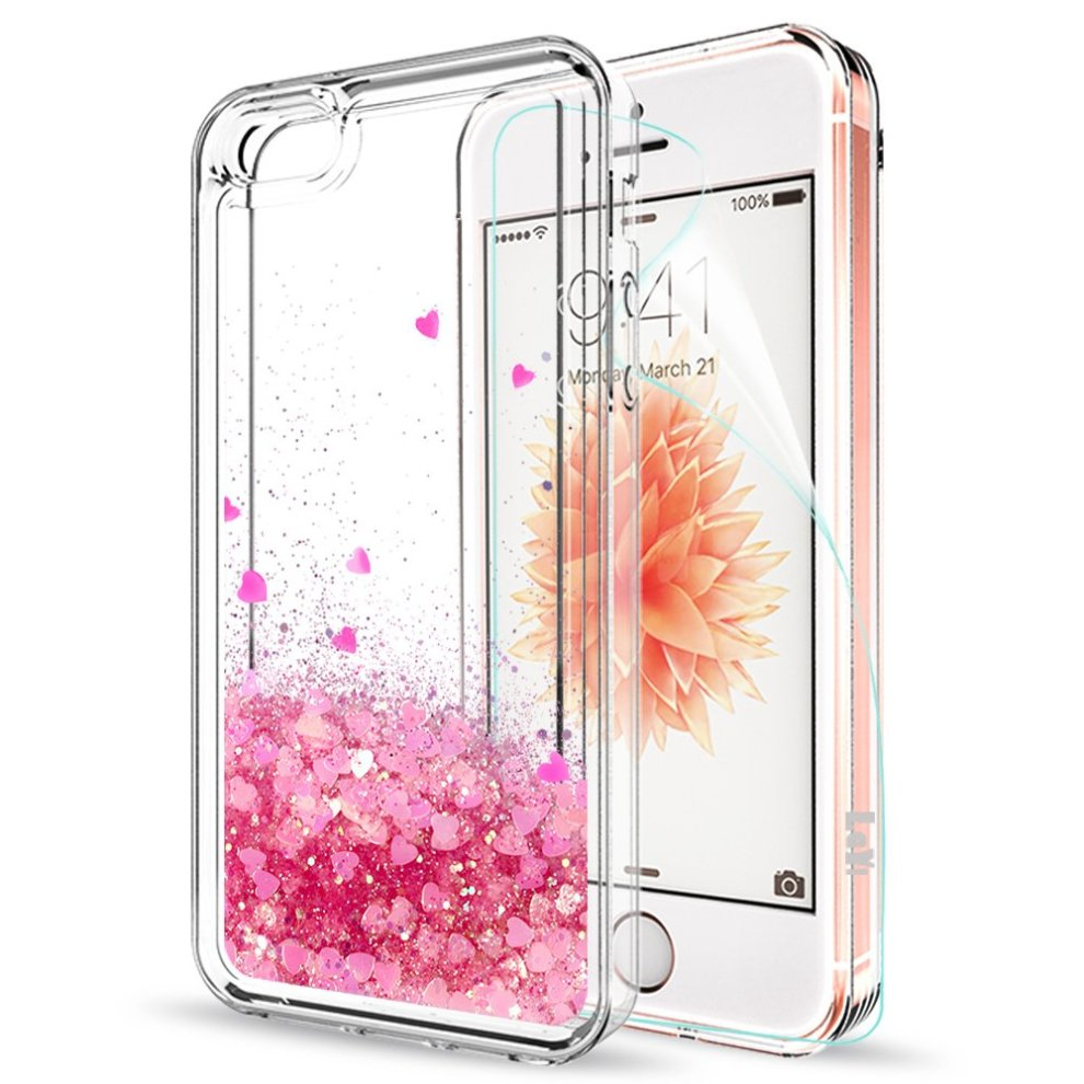 db3c64c7cf124d ... IPhone SE Case Silicone IPhone 5S IPhone 5 Iphone SE 2 Cover Shockproof  with HD Screen ...