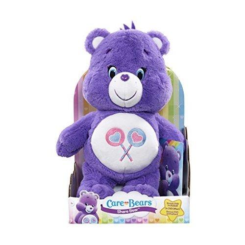 Care Bears Share Bear Plush with DVD