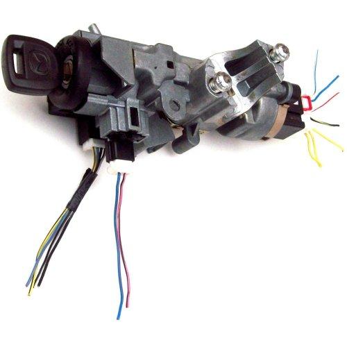 Mazda RX-8 Ignition Lock Barrel & Key GJ6A66938A VP2ALF-15607-AC