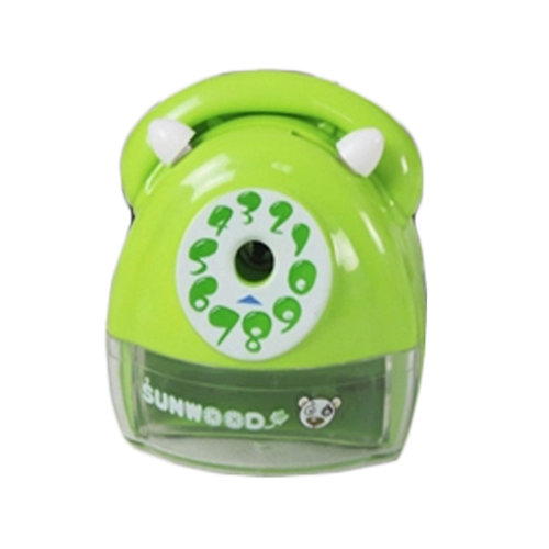Telephones Sets Manual Pencil Sharpener for Office and Classroom (Green)