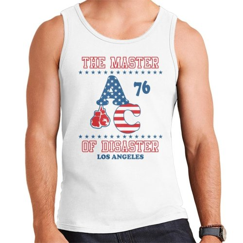 Master Of Disaster Apollo Creed 76 Rocky Men's Vest