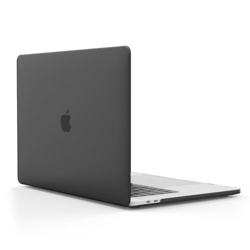 MoKo MacBook Pro 13 2016 Frost Hard Shell Protective Cover Translucent Black