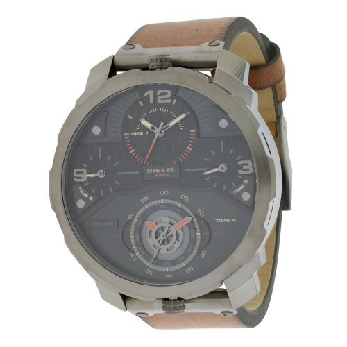 Diesel Machinus Leather Mens Watch DZ7359