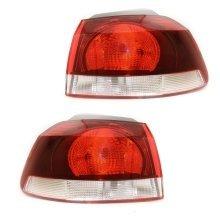 Volkswagen Golf Mk6 1/2009-> Rear Tail Lights 1 Pair O/s & N/s