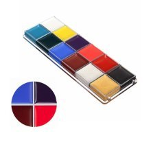 12 Flash Colors Professional DIY Face Body Paint Oil Painting Art Makeup Tool Fancy Party