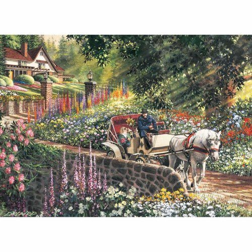 CBL88028 - Cobblehill Puzzles XL 275 pc - Carriage Ride