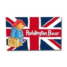 Official Paddington Bear Tea Towel Union Jack Flag Souvenir Gift Cool Britannia