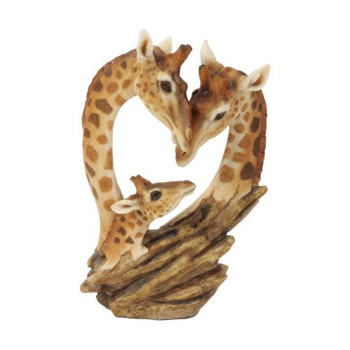 Naturecraft Giraffe Family Ornament