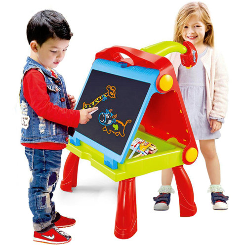 4 in 1 Kids Folding Plastic Drawing Board