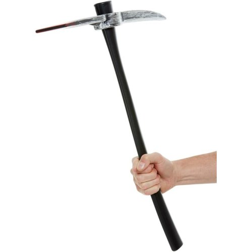 Blood Stained Pick Axe Halloween Fancy Dress Accessory Fake Weapon