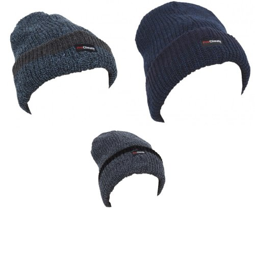bb35fc23a8528 Mens Thinsulate Knitted Thermal Heavy Winter/Ski Hat (3M 40g) on OnBuy