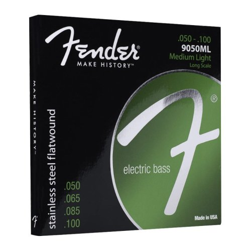 Fender 9050ml Stainless Flatwound 50-100 Bass Guitar Strings
