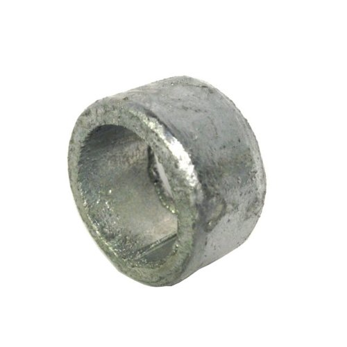 Non threaded spacer / washer 21 mm ID  16 mm length - Galvanised Mild Steel