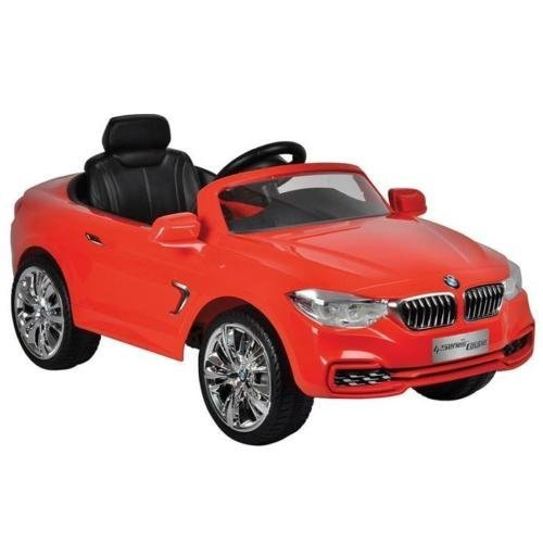 Toyrific BMW 4 Series Boys Kids Electric Ride On Toy Car Red 6V MP3 TY6014RD 4.5 average based on 4 product ratings 5  3 4  0 3  1 2  0 1  0 Would recommend   Good value   Good quality