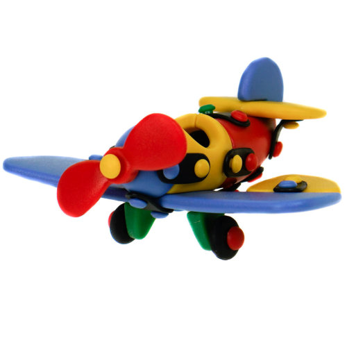 Mic-O-Mic Small Plane Construction Toy Kit