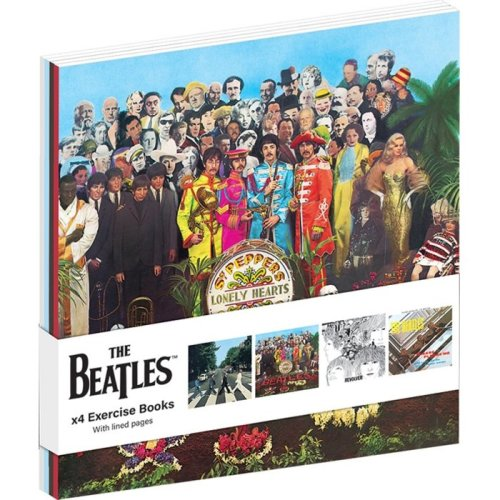 The Beatles Albums Set Of 4 A6 Exercise Books