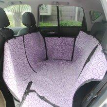 Waterproof Bench Seat Dog Car Seat Cover Purple Cloud