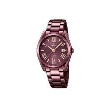 Festina F16865/1 Ladies Plum Dial Stainless Steel Quartz Watch