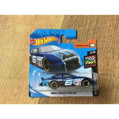 Hot Wheels 2019 HW Race Day Dodge Charger Stock Car #76
