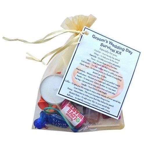 Groom's Wedding Survival Kit  -