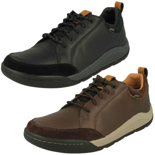 Mens Clarks Casual Gore-Tex Shoes Ashcombe Bay GTX - G Fit
