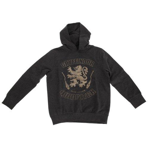 Harry Potter Childrens Girls Gryffindor Quidditch Team Captain Hoodie