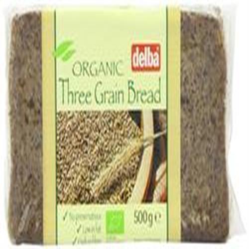 Delba Delba - Organic 3-grain Bread