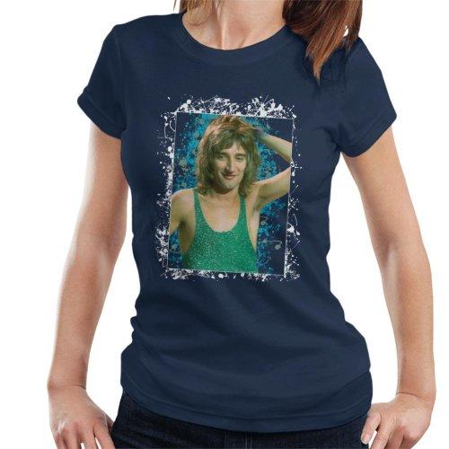 TV Times Rod Stewart Russell Harty Plus Women's T-Shirt