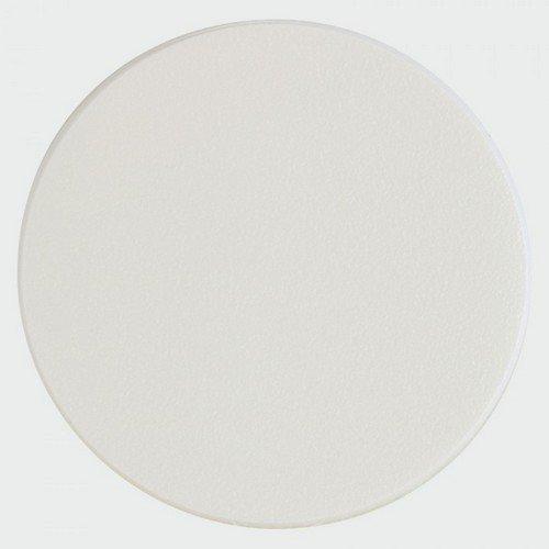 TIMco COVERWM18 Adhesive Caps White Matt 18mm Pack of 105