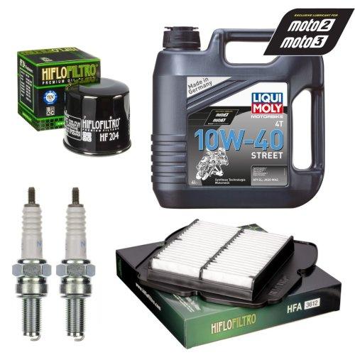 Service Kit Suzuki SV650 & S & U & SU Oil & Air filter Oil spark plug
