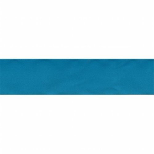 Single Face Satin Ribbon 1-.5 in. Wide 12 Feet-Tornado Blue