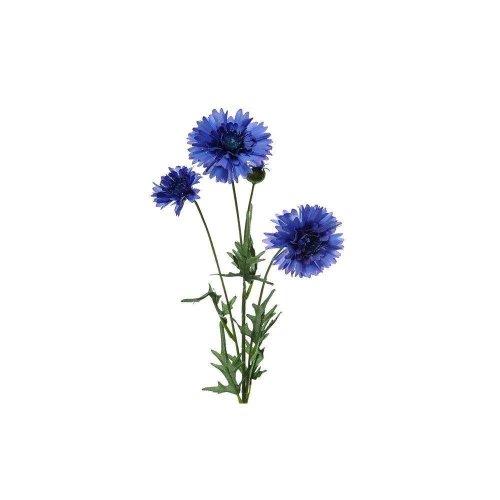 Artificial Blue Cornflower Spray - 65cm
