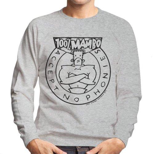 Mambo Accept No Phonies Men's Sweatshirt