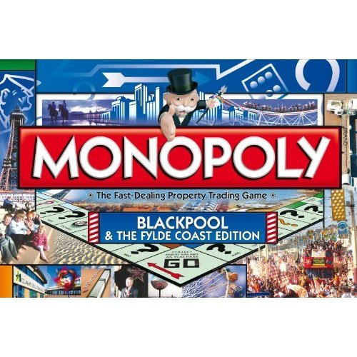 Monopoly Blackpool and The Fylde Coast Edition Board Game