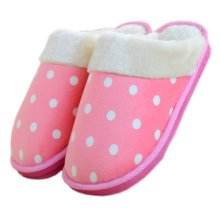 Womens Indoor Warm & Cozy Plush House Slipper, Pink
