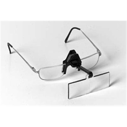 "Edroy 917 Spring Clip Opticaid - Clip-On Flip-Up Magnifier - 2.75X  6""L Focal"