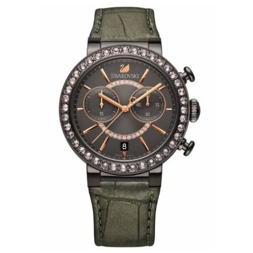 Swarovski Citra Sphere Gun Metal Tone Ladies Watch 5122040