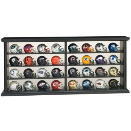 Riddell 32 Piece Wood Display Set (Pocket Helmets Incl.)