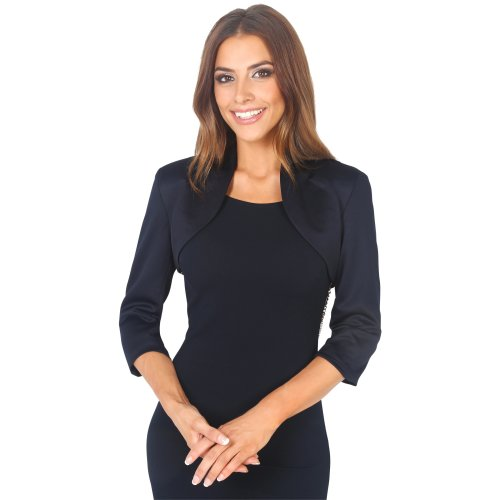 Tailored Cropped Evening Shrug