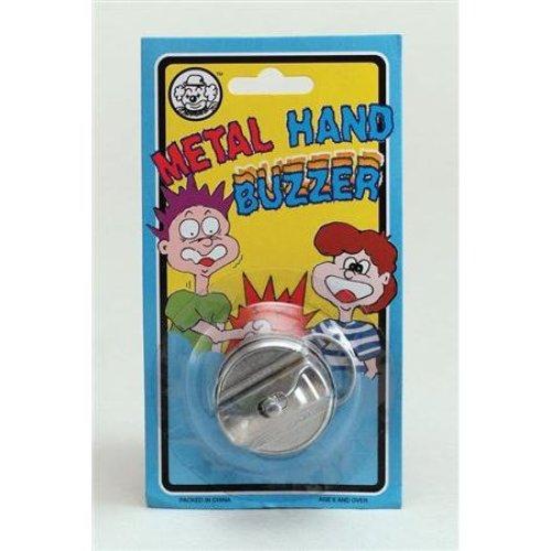 Joke Metal Hand Buzzers Prank - Buzzer Fancy Dress Trick Funny Filler Accessory -  metal joke hand buzzer fancy dress trick prank funny filler