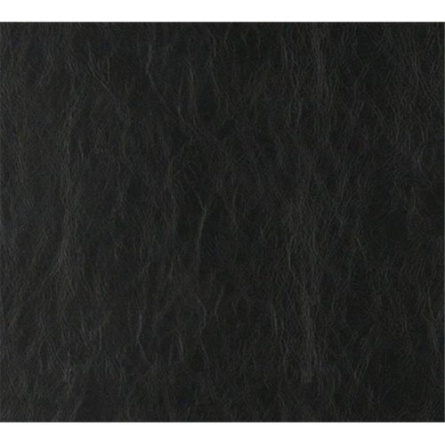 54 in. Wide Black, Distressed Leather Upholstery Grade Recycled Leather