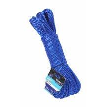 Bluespot 30m x 7mm (100ft) Poly Rope -  7mm poly rope soft x 33m bluespot tools 80422 33m100ft