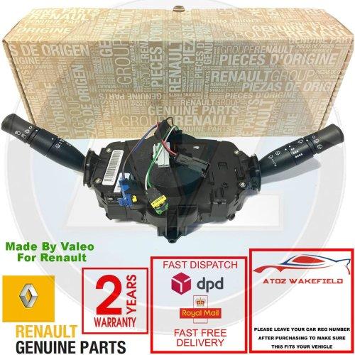 FOR RENAULT MEGANE MK2 CLOCK SPRING AIR BAG SQUIB COUPLING INDICATOR WIPER STALK