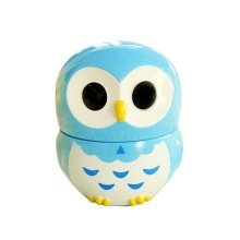 Cute Owl Mechanical Movement Kitchen Timer/Reminder-60 Minutes BLUE