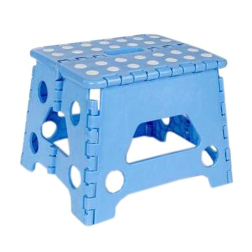 Creative Plastic Foldable Step Stool Portable Folding Stools Stepstool for Kids & Adults, No.9