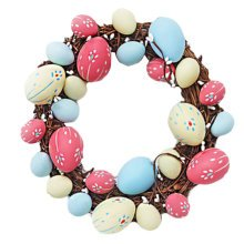 Children Plastic Easter Eggs/Egg Ring/Party Decorations/Gifts-color-a